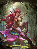 League of Legends   Zyra by FXcat