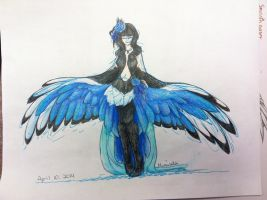 Elegant Wings by riceXyummy