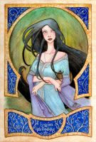 Commish - ARWEN EVENSTAR by LaraInPink
