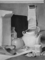 Class drawings-1 still life by a-human-works