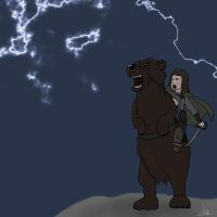 bear-mounting:awesome or hot by lishuss