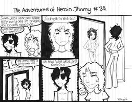 Adventures of Heroin Jimmy 33 by electricsorbet