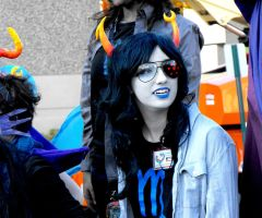 Shayna as Vriska 1 by FeverishRainbow