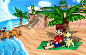 .: Summer in ACNL :. by Estefaniia-colacao