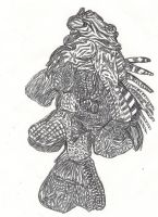 Lion Fish by shadeblighter