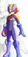 Rock EXE in RZ Style by Tomycase
