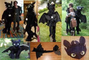 Toothless Cosplay by Exile-wolfy