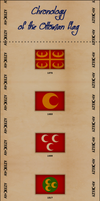 Chronolgy of Ottoman flag by AY-Deezy