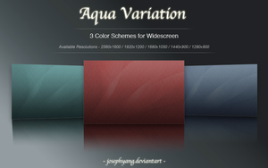Aqua Variation in Graphite by JosephYang