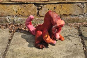Red Dragon Sculpture by McNish95