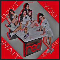 Red Velvet - Don't You Wait No More by DiYeah9Tee4