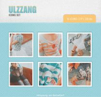 Ulzzang icons set 12 15 pic. by Minyoung-ssi