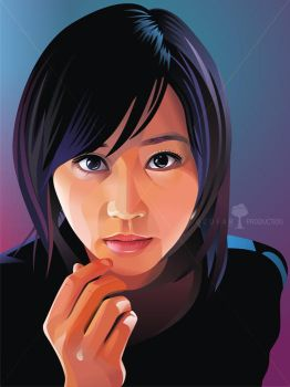 Horikita Maki Real Vector by ndop