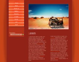 Webdesign layout by PanniL0