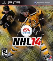David Krejci NHL 14 cover by AStein35