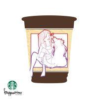 Irreplacable Love - Starbucks by kitty-kit