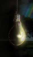 Noose vs. Light Bulb by el-Jimmeister