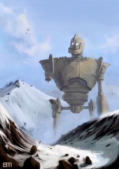 Iron Giant by bigmac996