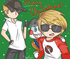 Ironic Christmas Selfies SS Gift by IbuVanWEEDS