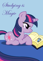 Studying is Magic by nya-nannu