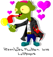 Zombies Love Lollipops by JeVuS