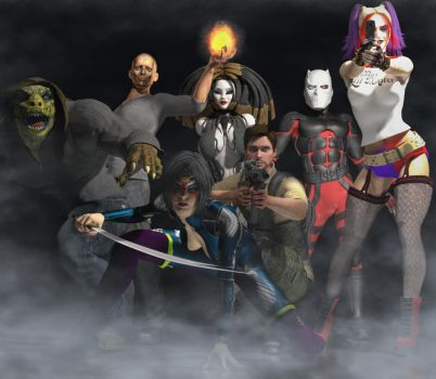 Suicide Squad by hiram67