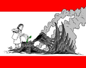 Lebanon will survive, by Latuff