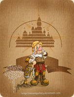 Disney steampunk: Sneezy by MecaniqueFairy