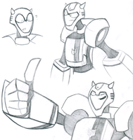 TF: 'Bee sketches by DemonicSora