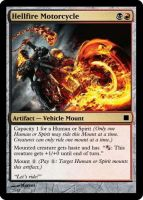 Hellfire Motorcycle by ManaSparks