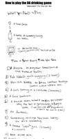 DA drinking game rules by sw