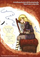 The Viking Bard by DolphinsKiss