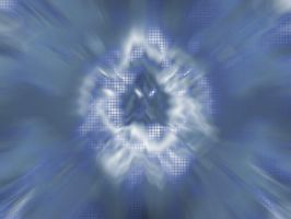 Abstract Blue Burst by Deathsythe212