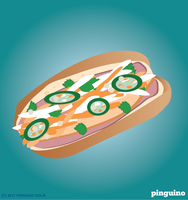 Bahn mi by pinguino