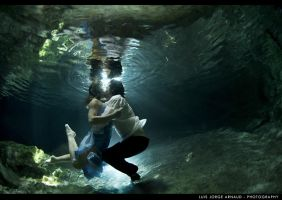 UnderWater Cenote Playa del Carmen  -14 by pearlchair