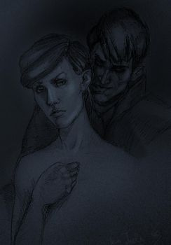 Emily and Outsider by koJuls