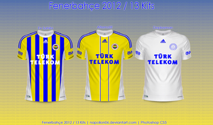 Fenerbahce 2012/13 Kits by napolion06
