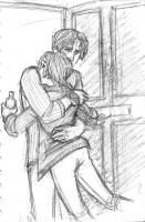 Catching Fire: Gale and Katniss by Catching-Smoke