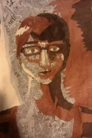 Self Portrait Shading Collage by vynn-beverly
