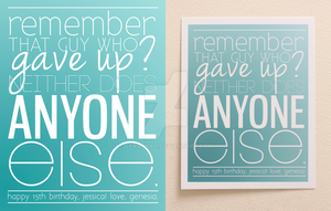 Inspirational Typography by GENAYNAY