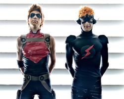Consequences- Kid Flash and Red Arrow cosplay by Detailed-Illusion