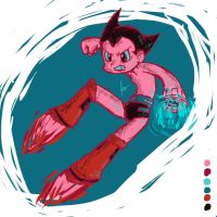 Astro Boy by AndrewSketches