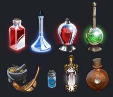 Potions by Petarsaur