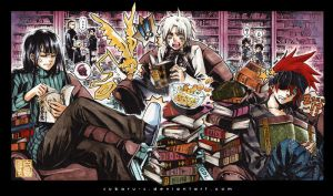 DGM: Reading Time by subaru-s