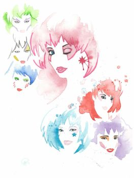 Jem and the Holograms by JAWart728