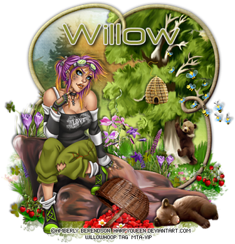 AmberlyBerendson wh honeybear willow by Willow-Hoop