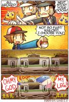 Subway Battle by KataChan