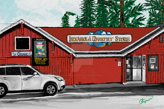 The Indianola Country Store by GrumpyOldArtist