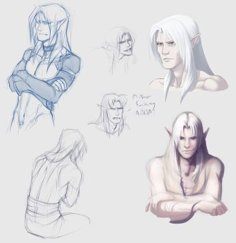 A smattering of rando ghaleons by we-were-in-love