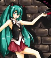 Miku Project Diva by haseo1333